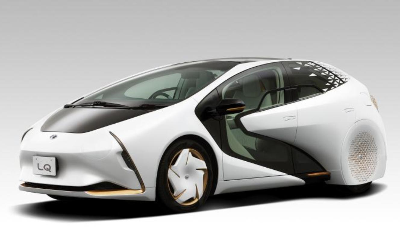 丰田LQ概念车官图发布 续航里程约为300km