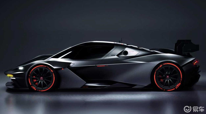 KTM也用车身覆盖件了?600匹马力新车亮相