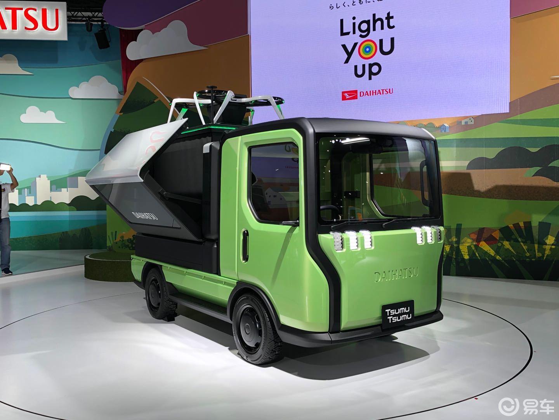 造型新奇 大发Tsumu Tsumu概念车亮相东京车展