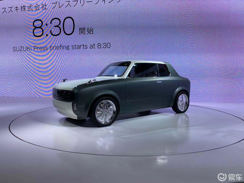 造型复古 铃木Wako SPO概念车亮相东京车展