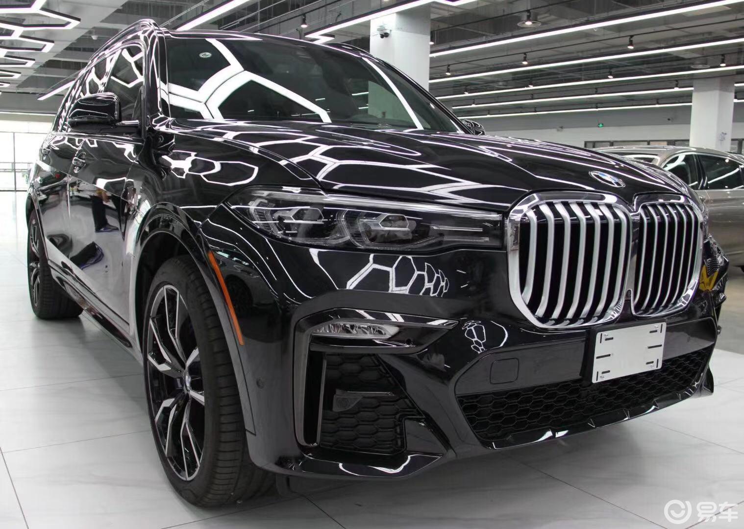平行进口车全新一代宝马X7天津自贸区动力现车大幅度降价售