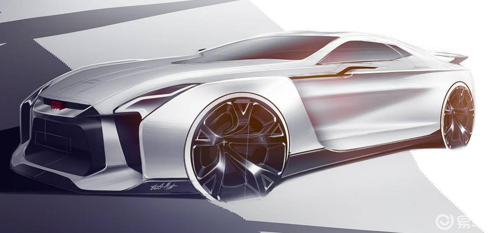 外观风格更加激进,下一代日产GT-R最新渲染图曝光