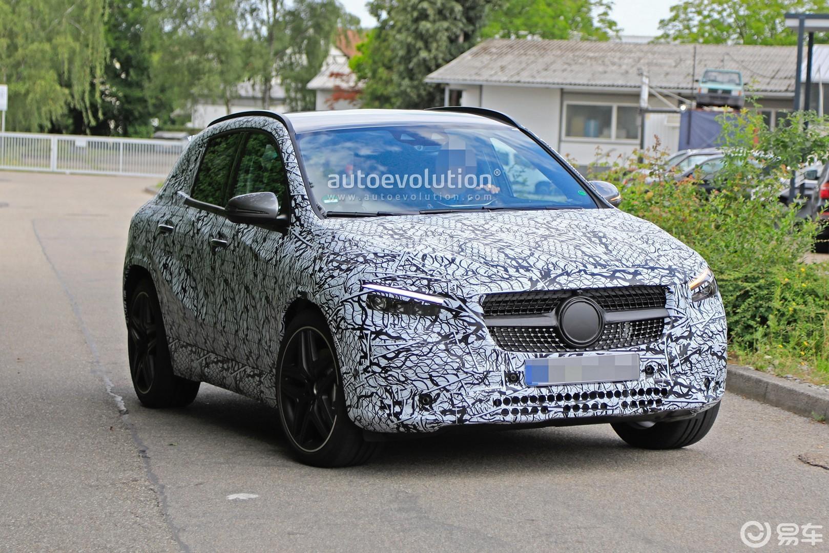 有望国产上市,全新奔驰AMG GLA 35测试谍照曝光