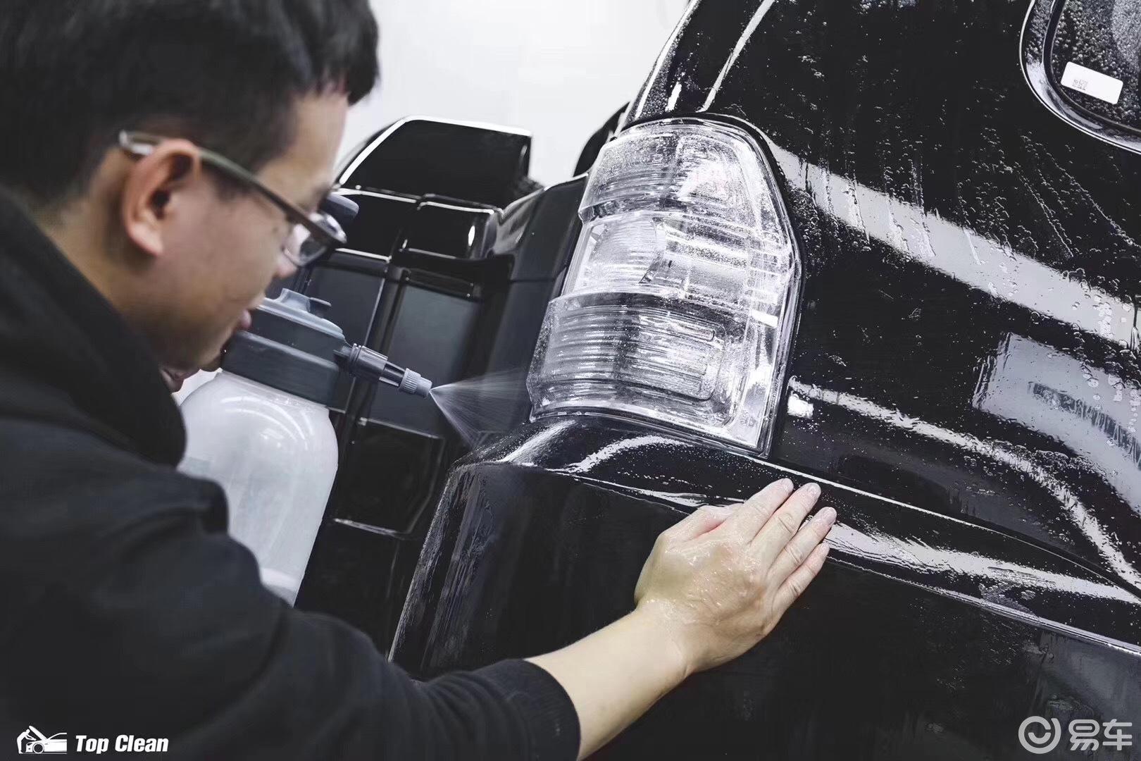山猫 整车自修复隐形车衣开始施工