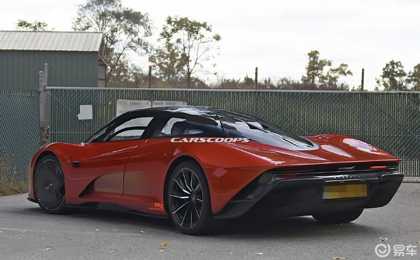 迈凯伦Speedtail实车南美测试