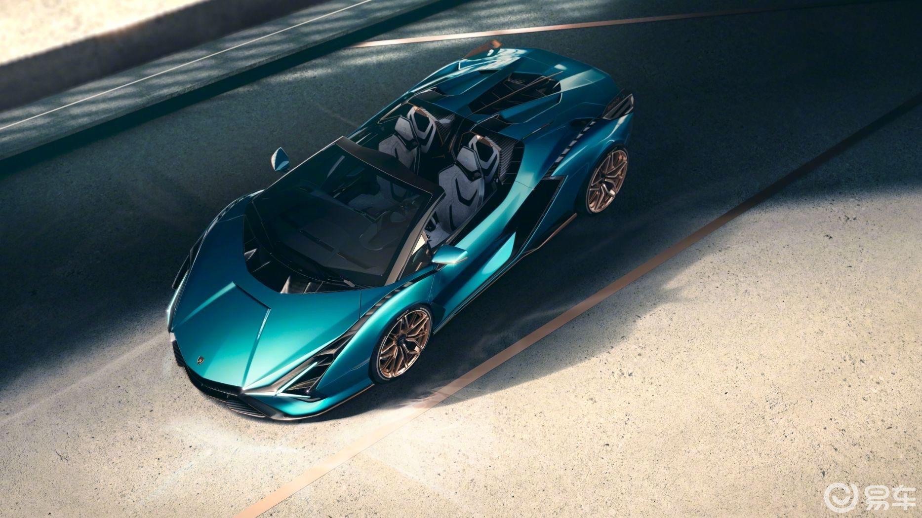 兰博基尼全新混动超跑Sian Roadster敞篷版发布