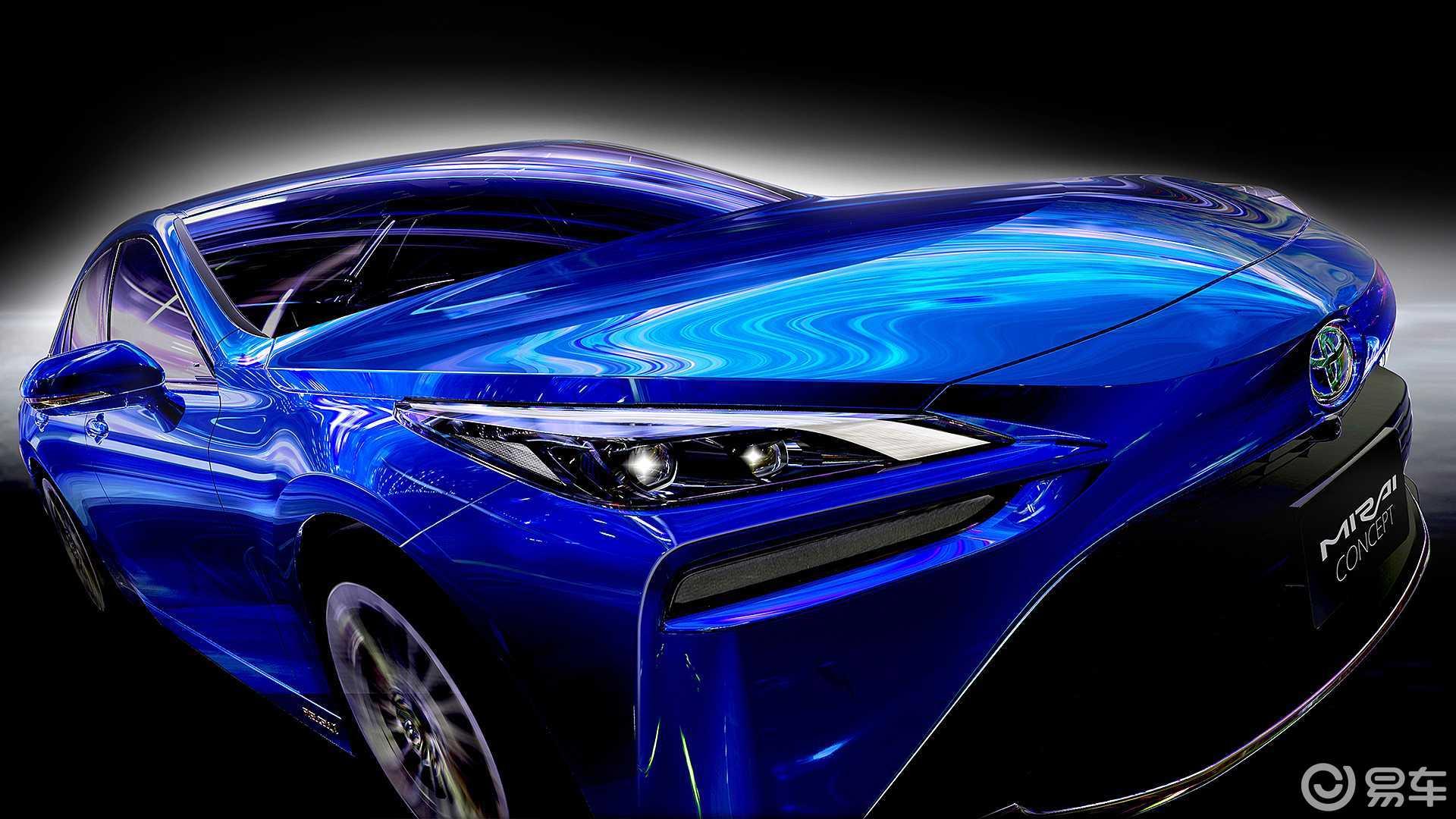 氢燃料电池车也要Coupe化?丰田Mirai将全方位升级