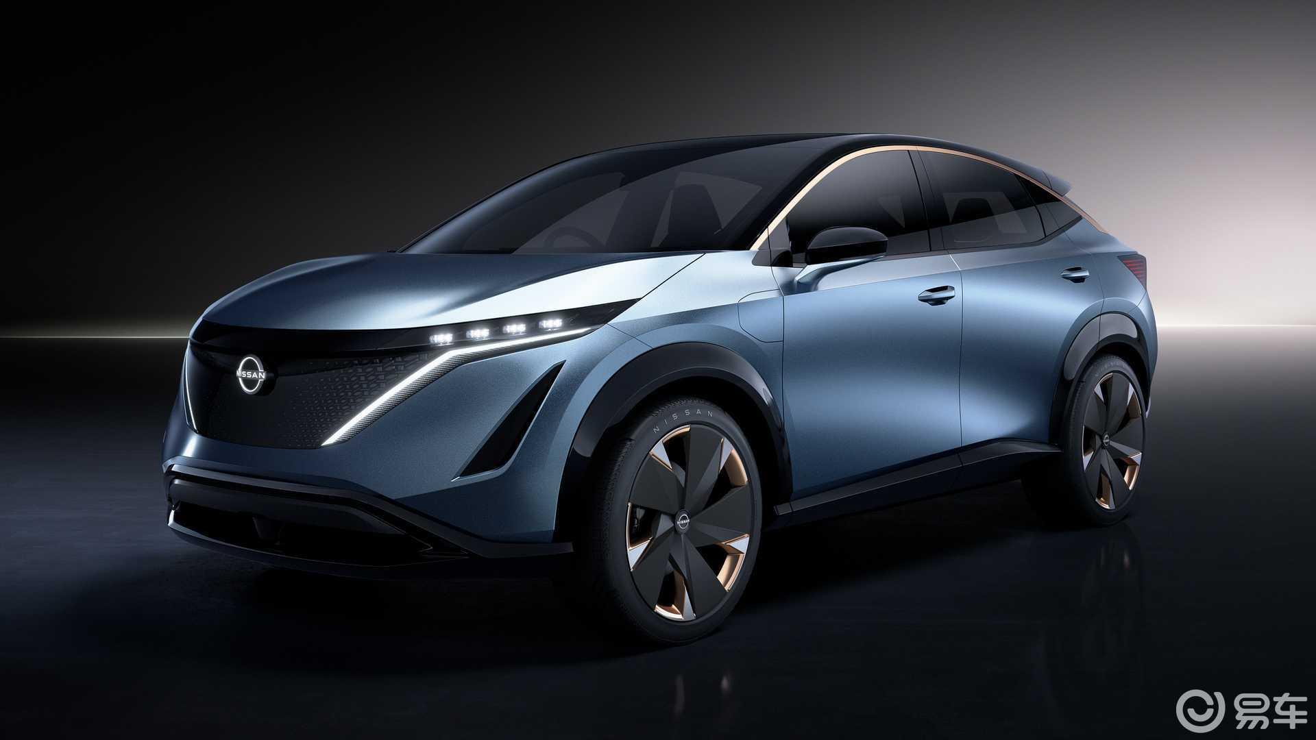 品牌未来方向,日产Ariya Concept亮相东京车展