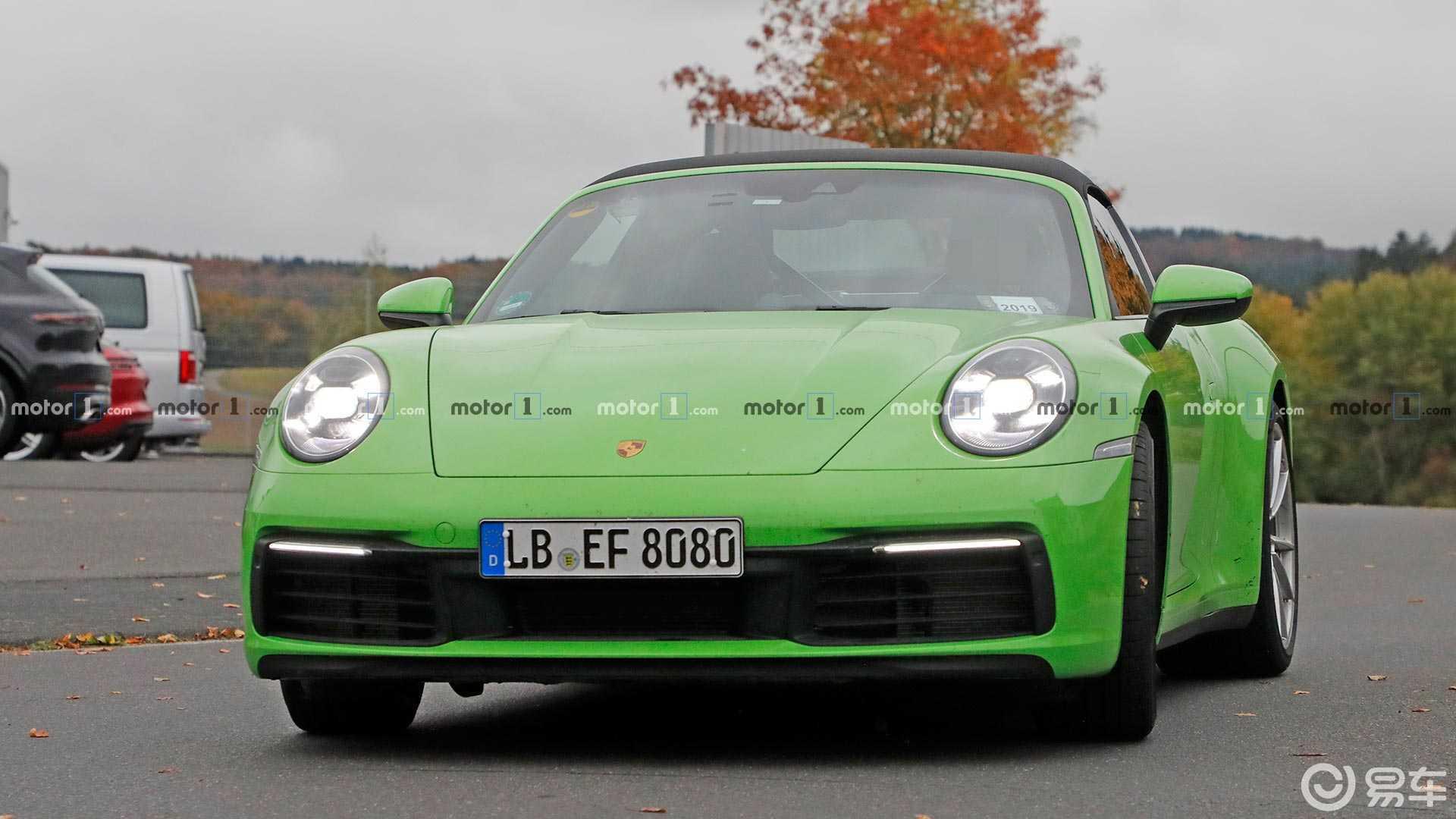 全新一代保时捷911 Targa曝光,搭双涡轮增压发动机