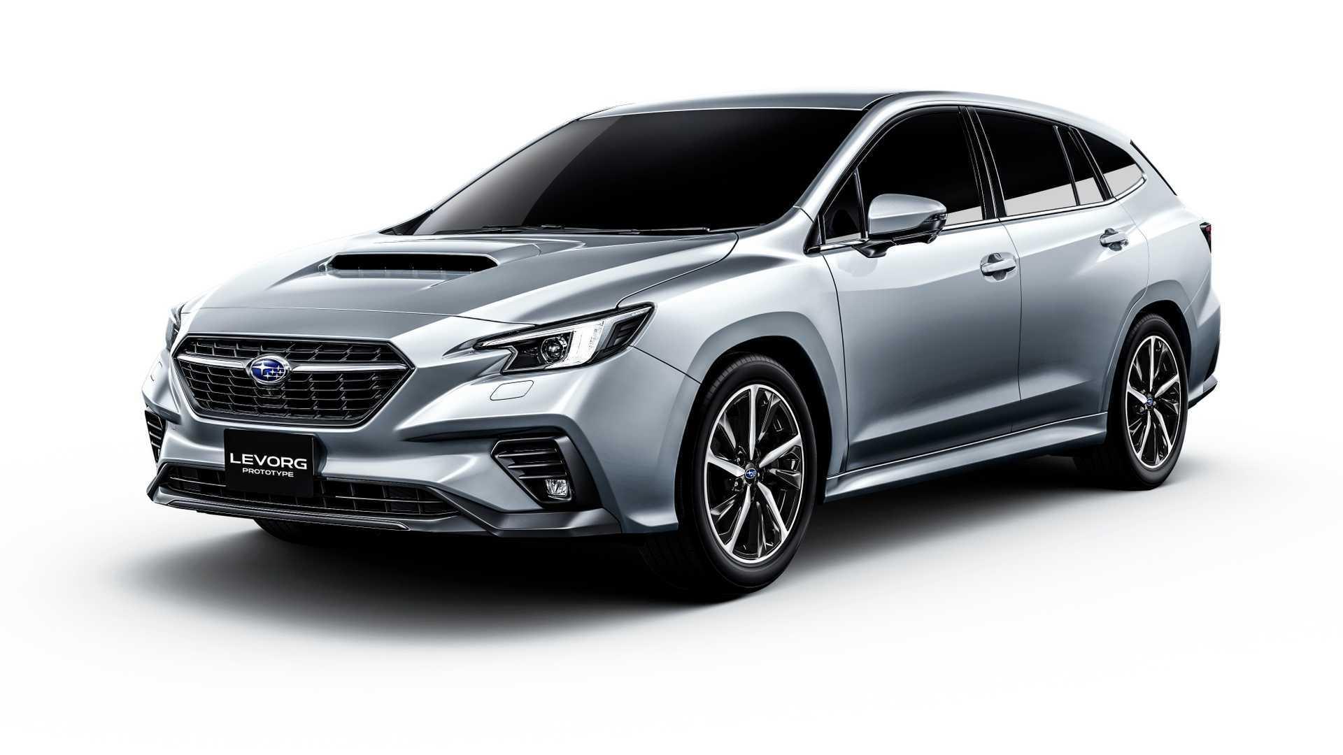 全新平台和最新家族语言,全新斯巴鲁LEVORG原型车发布