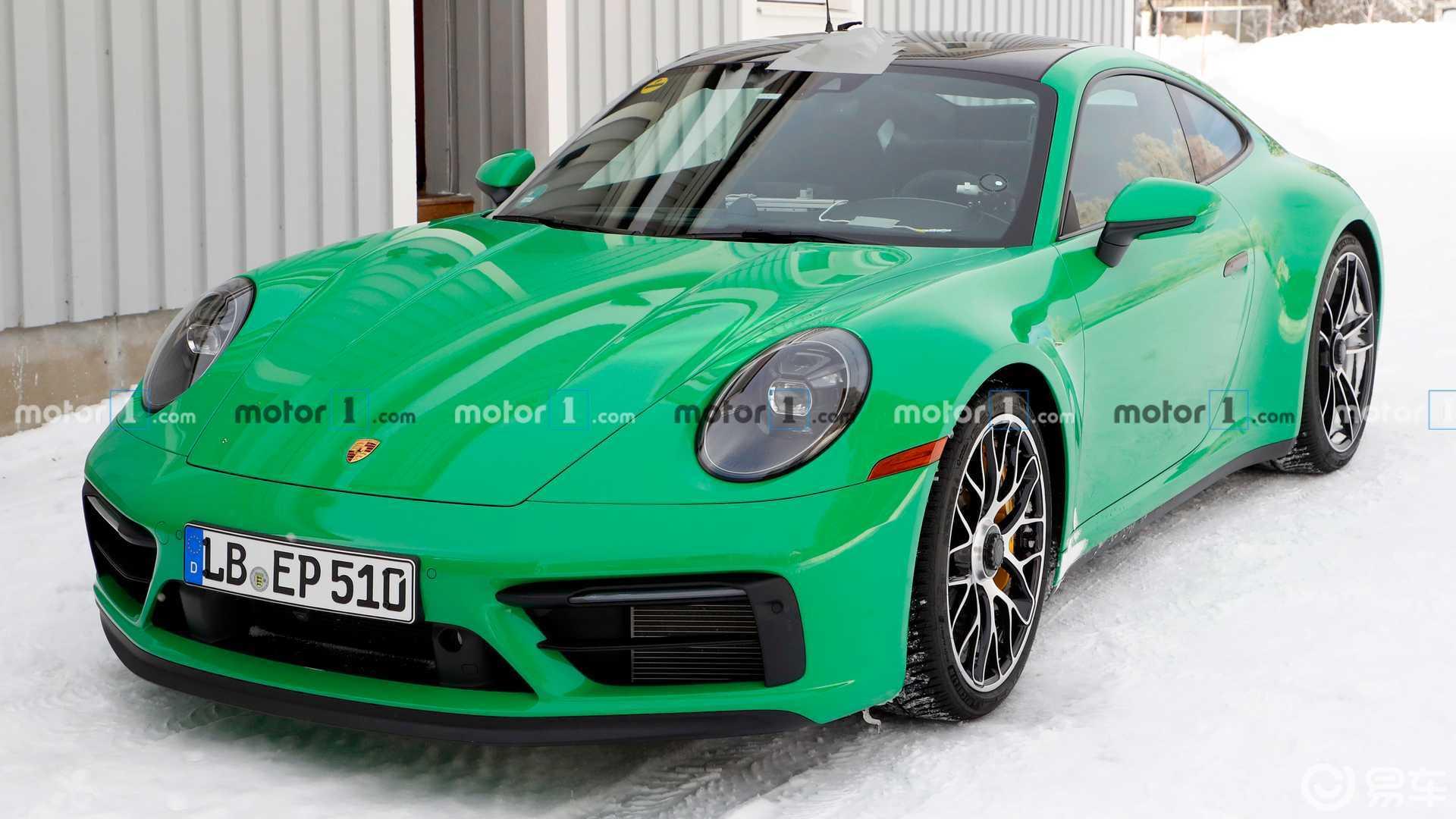 外观靓丽性能强劲,全新一代保时捷911 GTS实拍图曝光