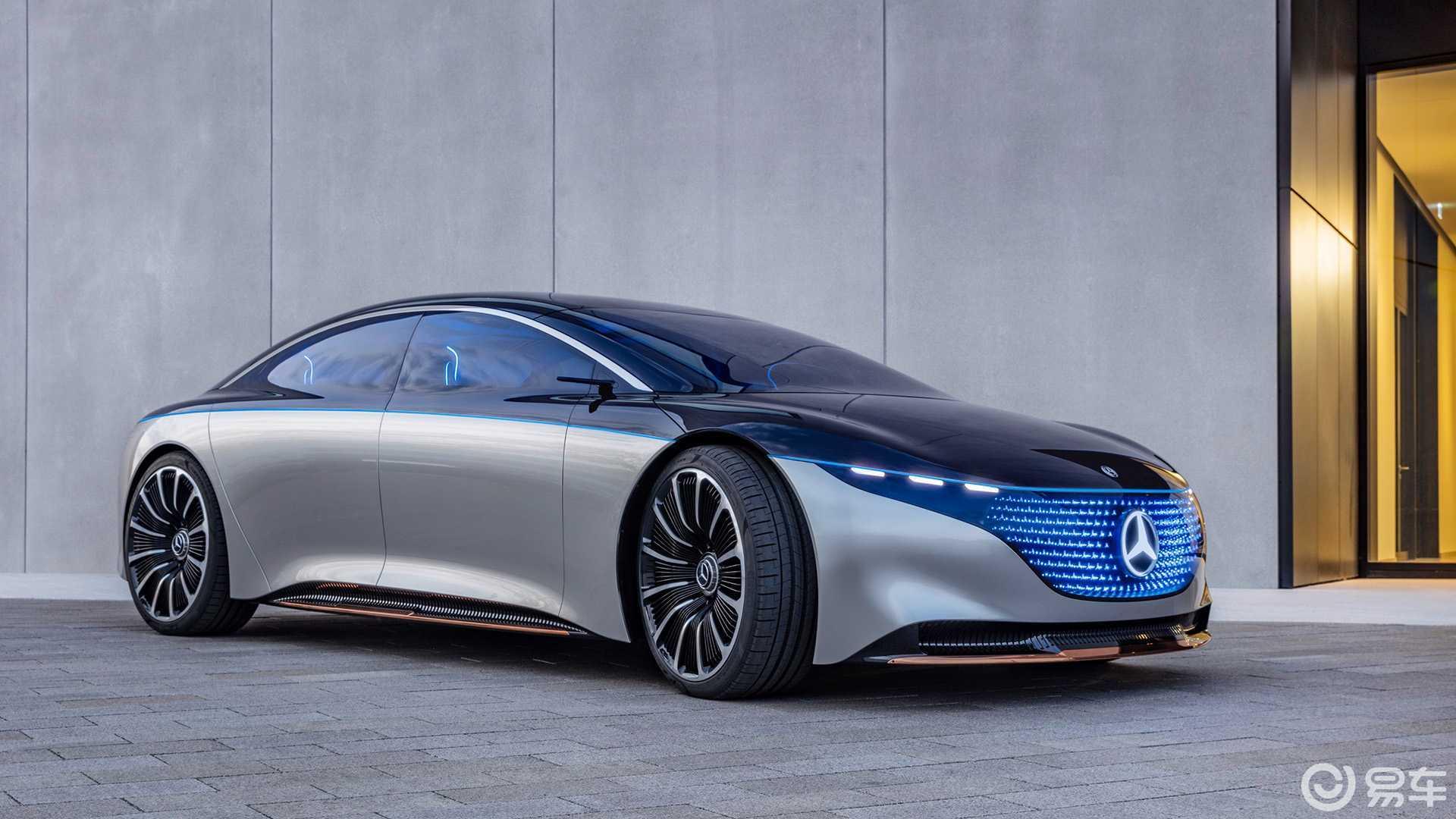 将搭载超600马力电机,消息称奔驰EQS将推出AMG车型