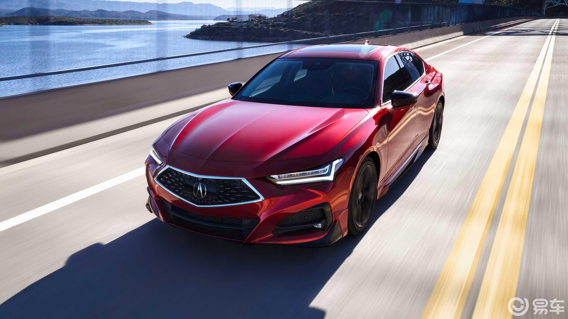 全新讴歌TLX官图发布 基于概念车打造 提供两种动力