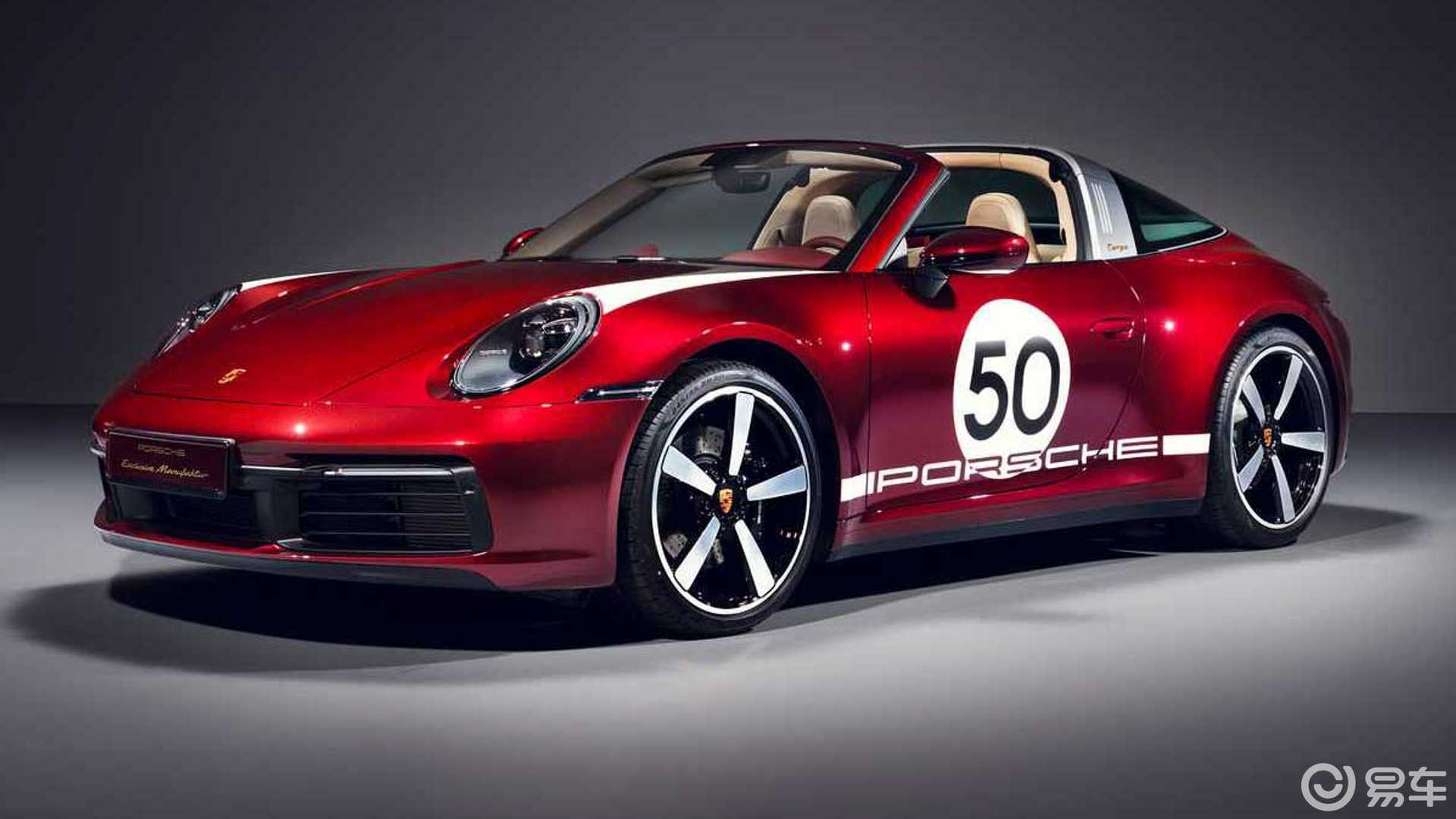 保时捷911首款Heritage Design车型发布