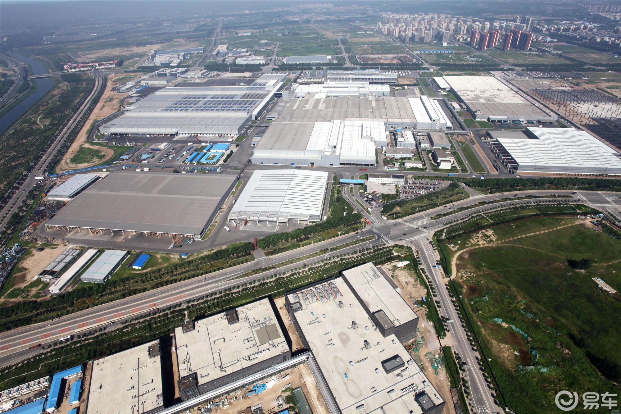 北汽顺义工厂腾笼换鸟 奔驰EQC和GLB国产在即