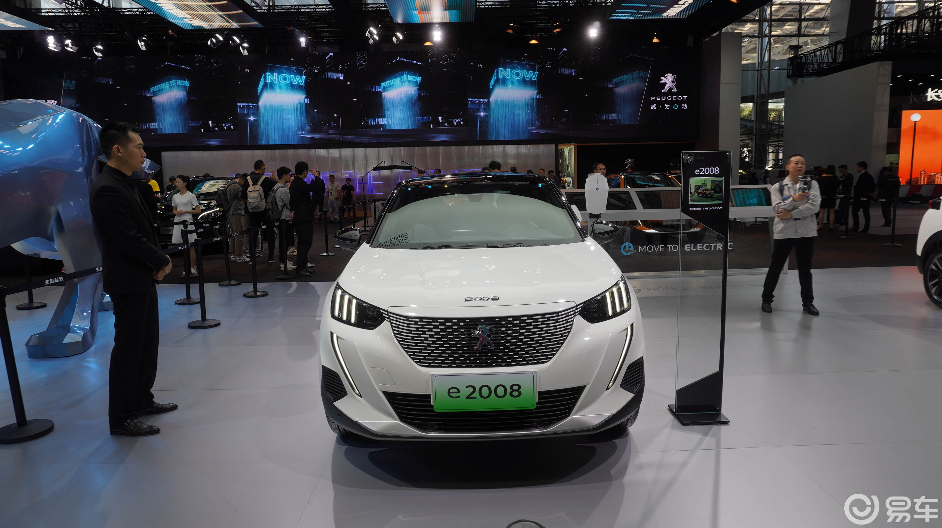 2019广州车展:迈向电动领域,标志e2008能行吗?