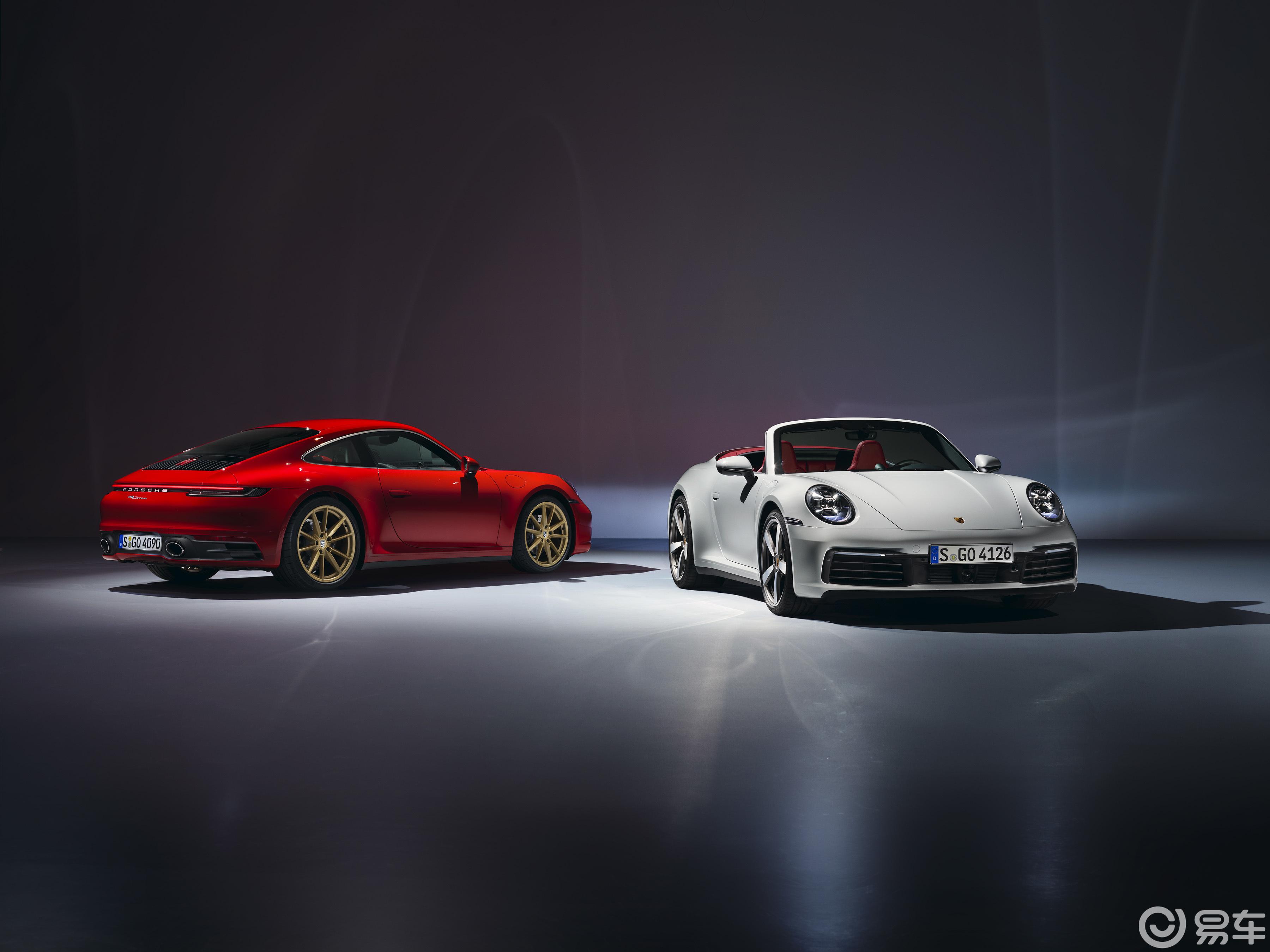 126.5万元起售,全新911来了,带红外线夜视辅助系统