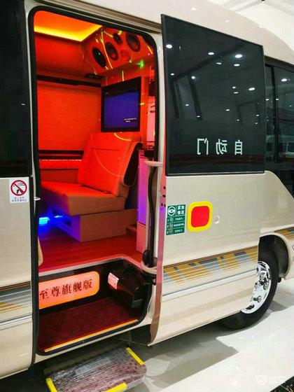 丰田考斯特17座价格 招标采购版中巴车