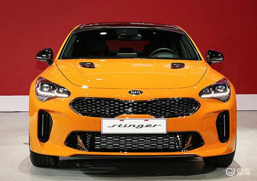 起亚新款斯汀格正式上市,新车共计推出3款车型