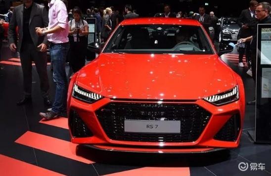 最高车速为250公里/小时,奥迪RS7售价153.98万