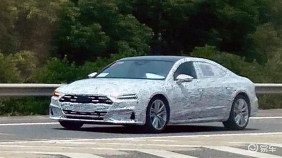 奥迪A7L路试谍照曝光 新车将于2022年正式上市