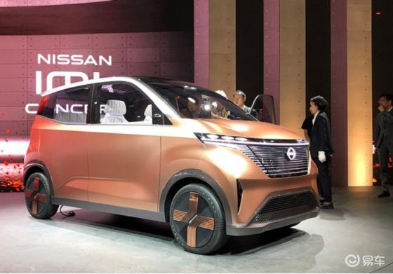 东京车展日产IMK纯电动概念车正式发布