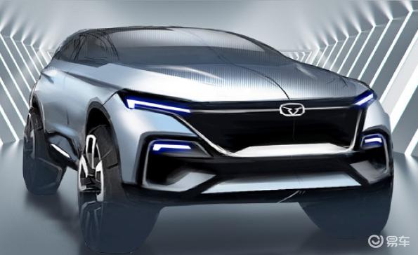 凯翼全新SUV配备贯穿式尾灯 将于12月24日下线