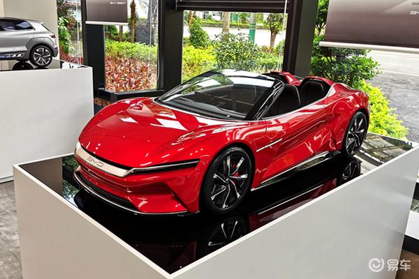 仍在研制阶段,E-SEED GT概念车敞篷版造型曝光
