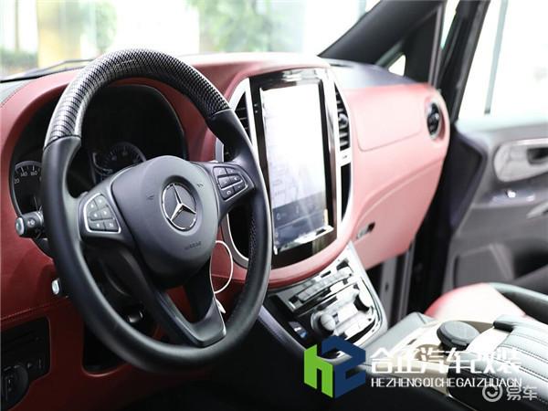 奔驰威霆5万改装方案,合正绝佳颜值演绎出完美商务车