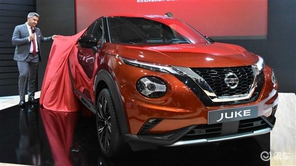 日产新一代JUKE实车亮相,换装1.0T三缸动力