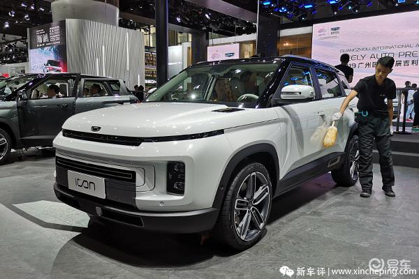 2019广州车展新车:吉利icon,传祺GS4Coupe