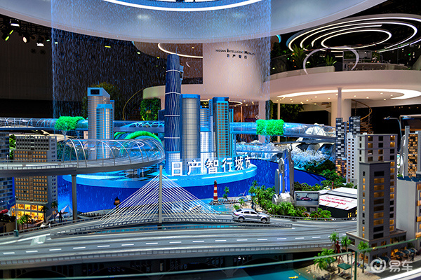 东风日产启动日产智行城市,天籁与IMs概念车亮相