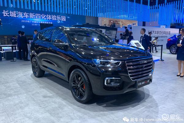 2019广州车展上市车型之:全新哈弗H6GT版