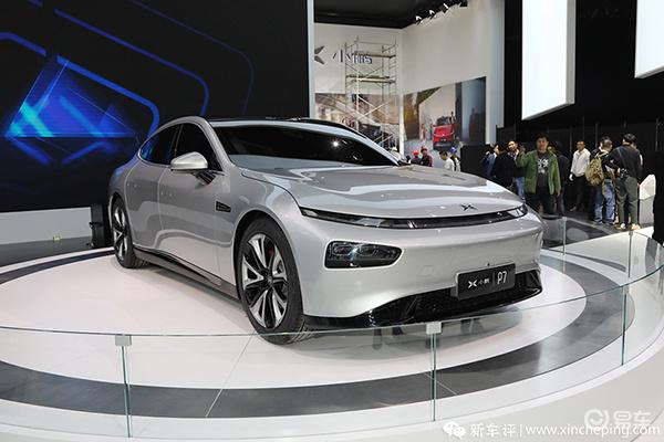 2019广州车展上市车型之:小鹏P7,预售:27-37万