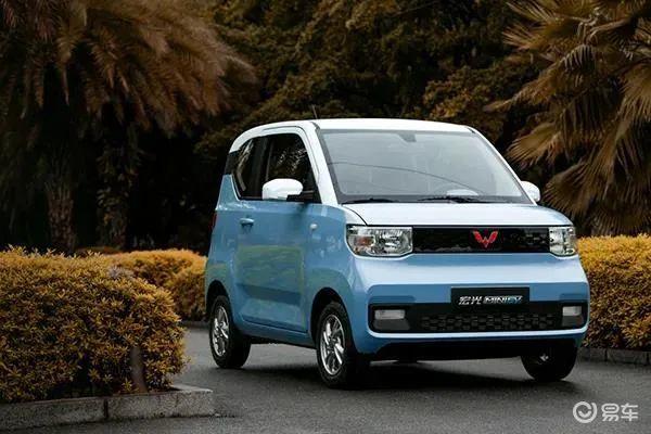 五菱宏光MINI EV开启预售2.98万元起