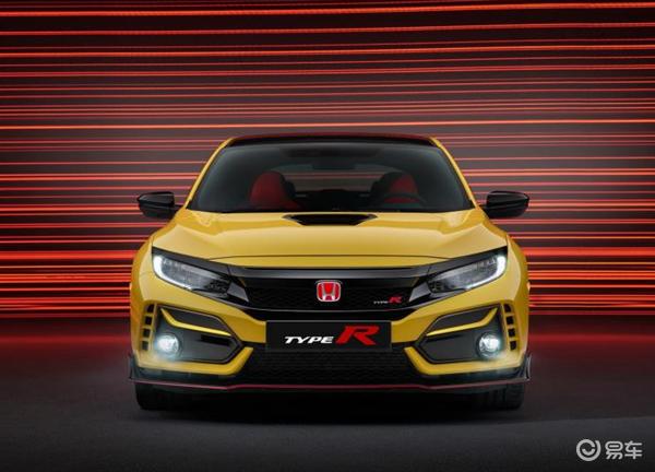 """本田""""最速""""思域Type R 限量版发布,全球售700台"""