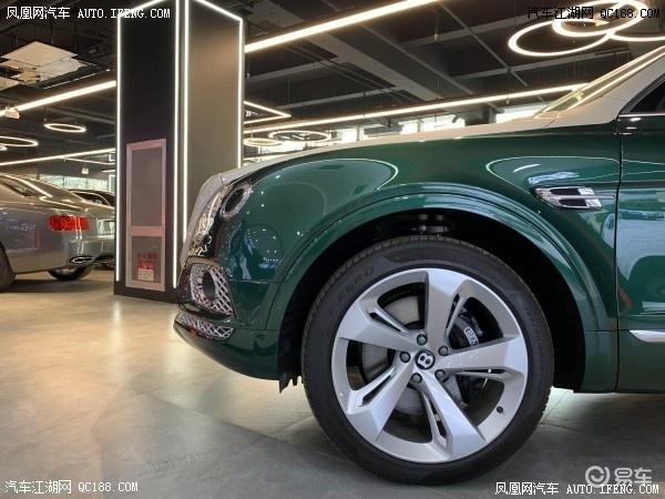 天津港20款宾利添越国六新车到店现车优惠多少钱