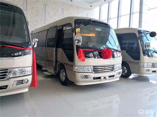 丰田考斯特6米以内房车丰田考斯特中巴车多少钱
