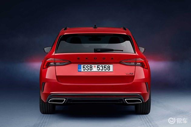 斯柯达新款明锐RS官图发布,有两种车型可选