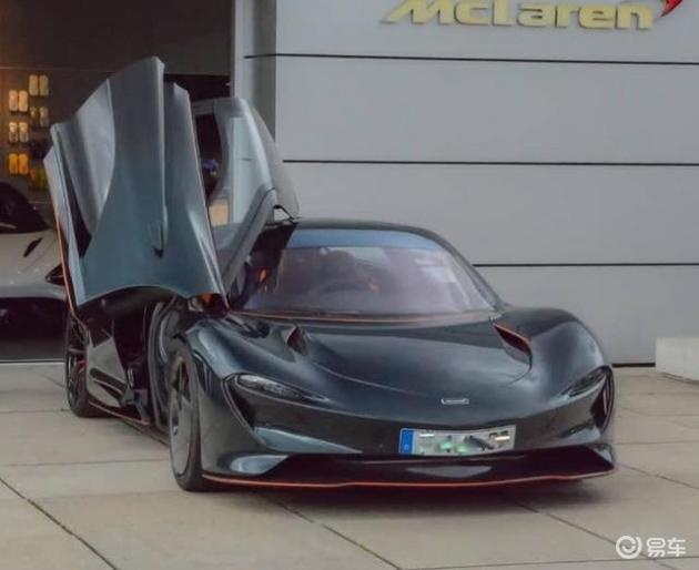 迈凯伦全新跑车Speedtail实拍 全球限量106台