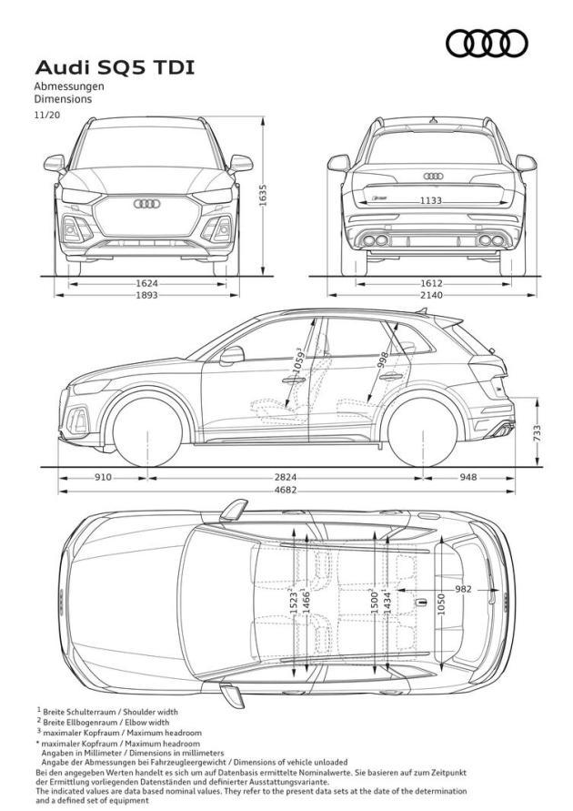 外观细节更加运动化,中期改款奥迪SQ5官图发布(图8)
