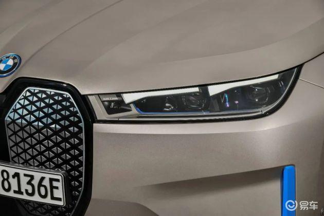 纯电动BMW iX全球首秀 零百加速不足5秒 明年上市(图4)