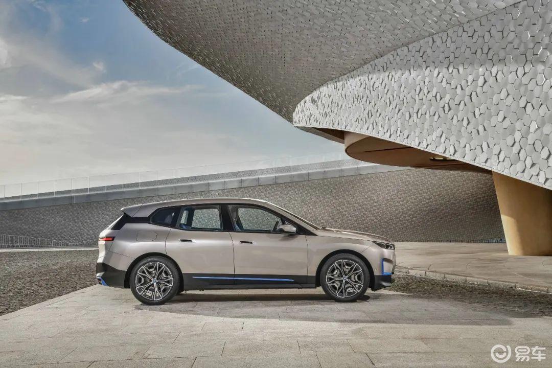 纯电动BMW iX全球首秀 零百加速不足5秒 明年上市(图2)