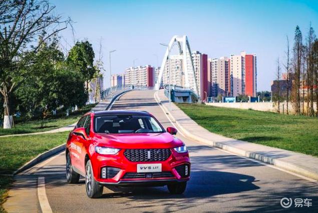 试驾2020款VV5,15万级别里最合适年轻人的SUV