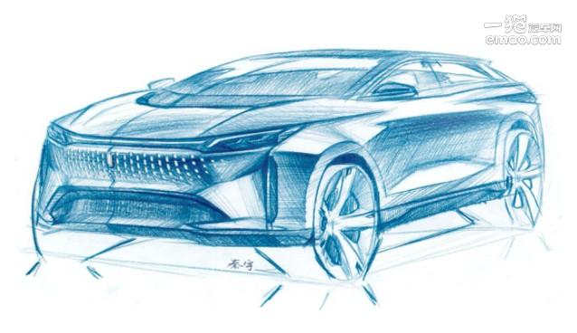 一汽奔腾纯电中型SUV 将于广州车展亮相