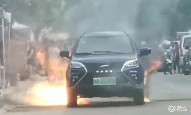 """这个造车新势力""""火""""了,起火自燃现场惨烈,疑电池受损造成"""