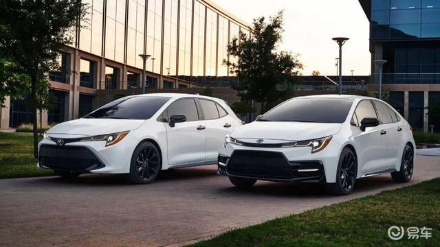 卡罗拉特别版曝光,网友:为啥这么帅的车型,不国产两厢版呢