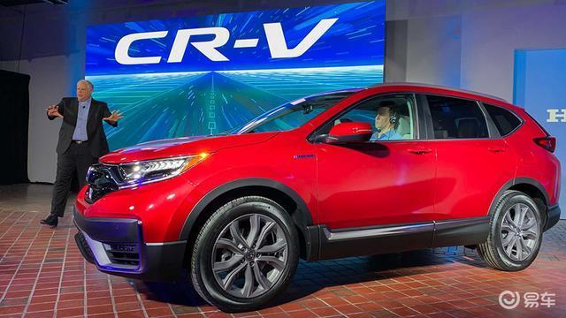 新款本田CR-V海外版实车图发布 外观内饰调整