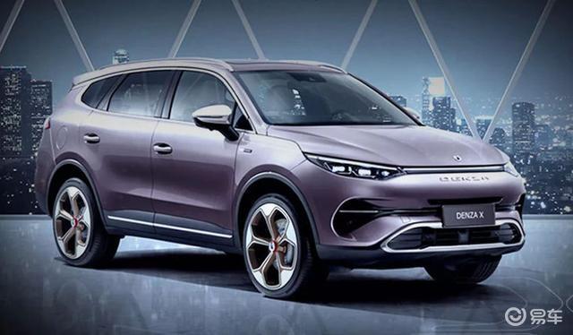 腾势X官图发布,将广州车展正式上市