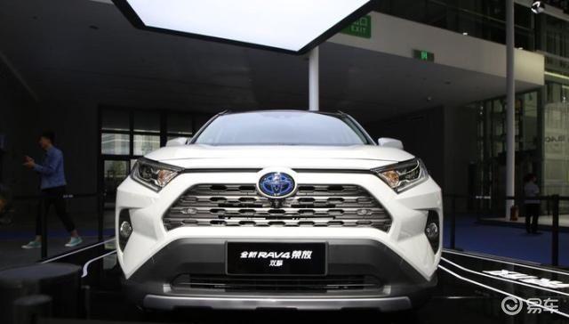 全新丰田RAV410月25日正式上市,外观硬朗、内饰精致